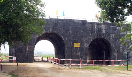 The southern entrance of the Ho Dynasty (1400-1407)'s citadel with three gates in Thanh Hoa Province - Vietnamtravelblog