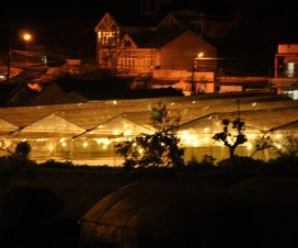 sparkling Da lat at night - Vietnam travel