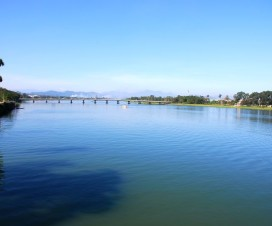 beautiful Huong River - Hue - Vietnamtravelblog