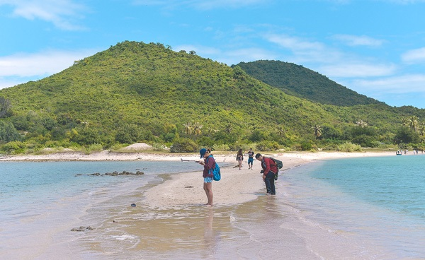 Waling across the sea - have you ever tried?