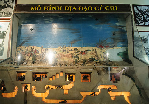 Cu Chi Tunnels map - Cu Chi Tunnels tour from Ho Chi Minh City