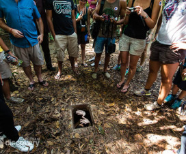 Exit and entrance gate - Cu Chi Tunnels tour half day from Ho Chi Minh City