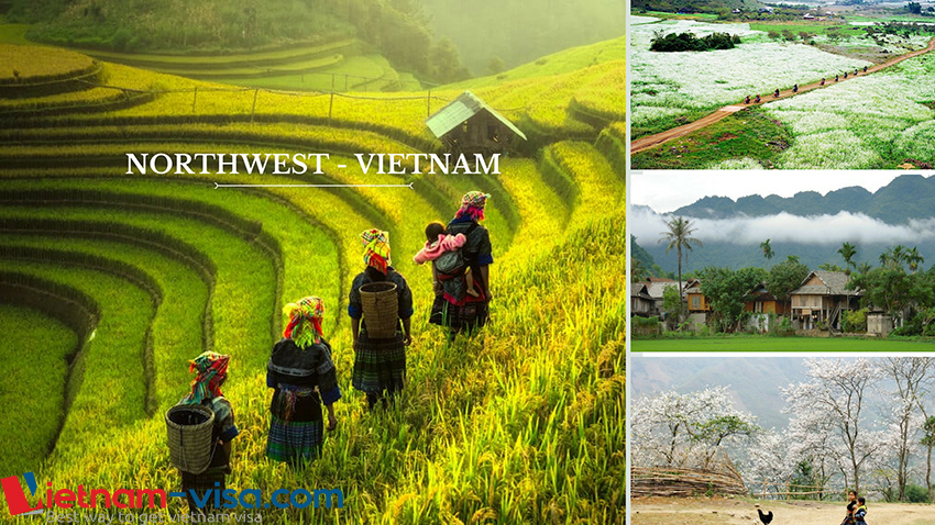 Northwest region among 7 wonderful places to visit in Vietnam for Spanish - Vietnam visa for Spanish
