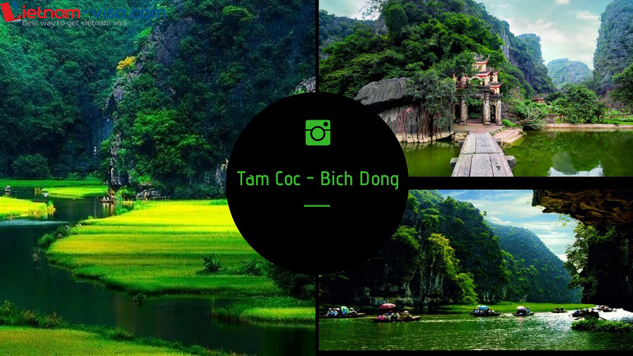 Tam Coc - Bich Dong among 7 wonderful places to visit in Vietnam for Spanish - Vietnam visa