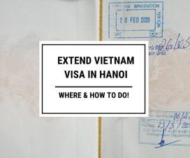 Where and how to extend Vietnam visa in Hanoi
